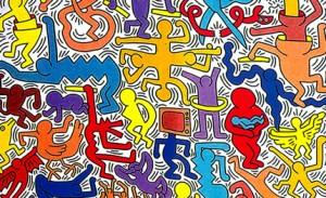 Keith_Haring_Tuttomondo_Pis