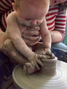 Bébé potier